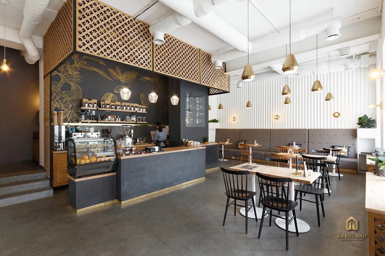 Coffee shop - Tiện ích nội khu dự án Central Garden