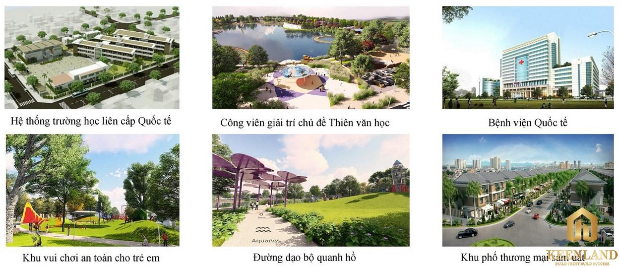 Tiện ích ngoại khu Him Lam Nam Khánh