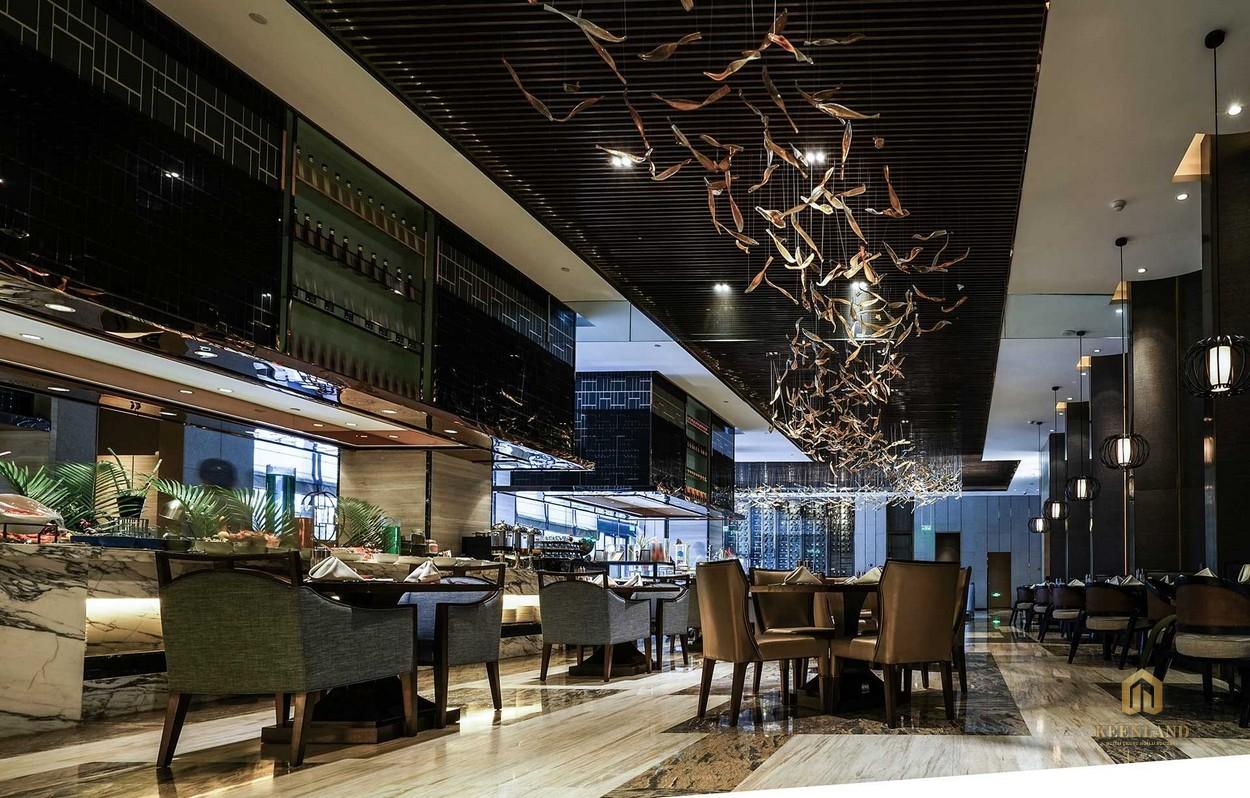 Nhà hàng cao cấp - Tiện ích nội khu dự án The Grand Manhattan