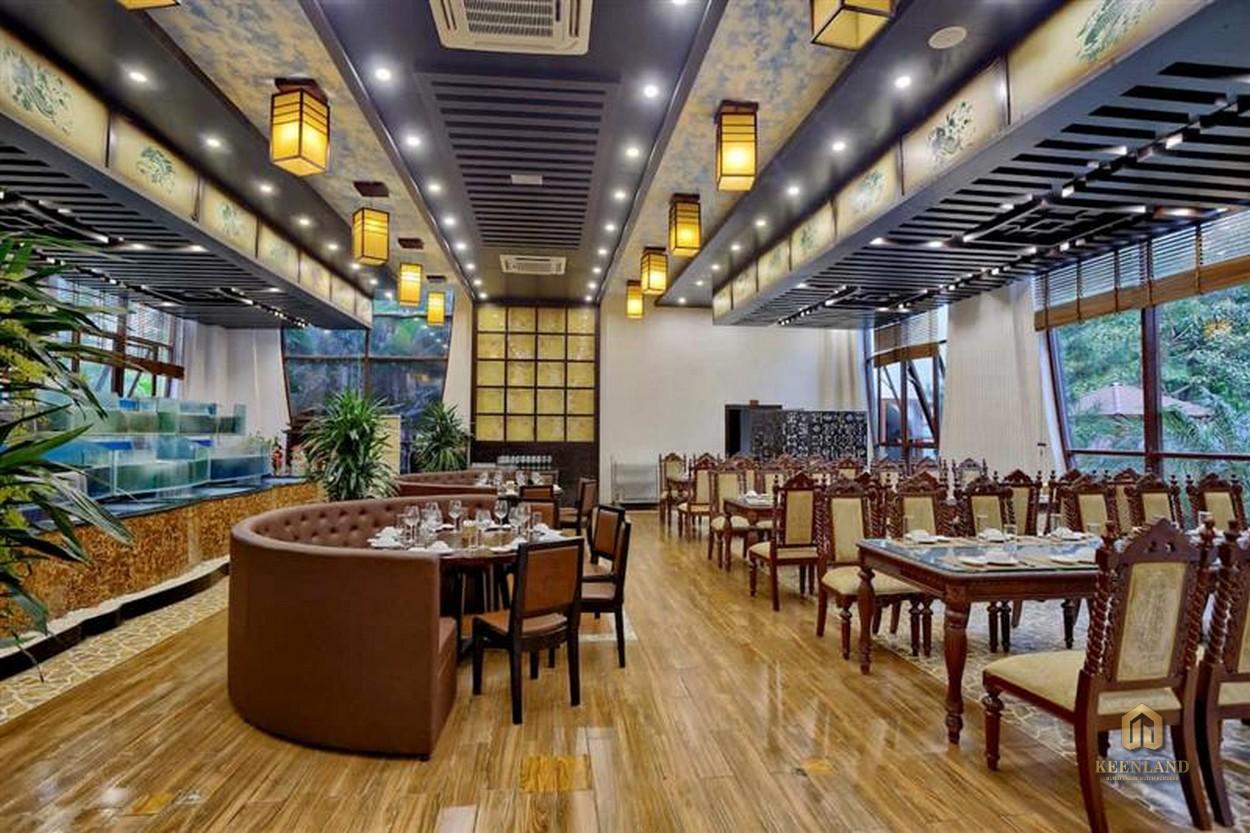 Nhà hàng sang trọng - Tiện ích nội khu dự án The Nexus