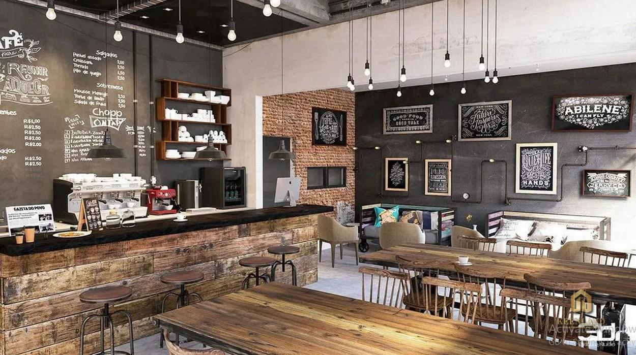 Khu cafe nội khu dự án Bee Home