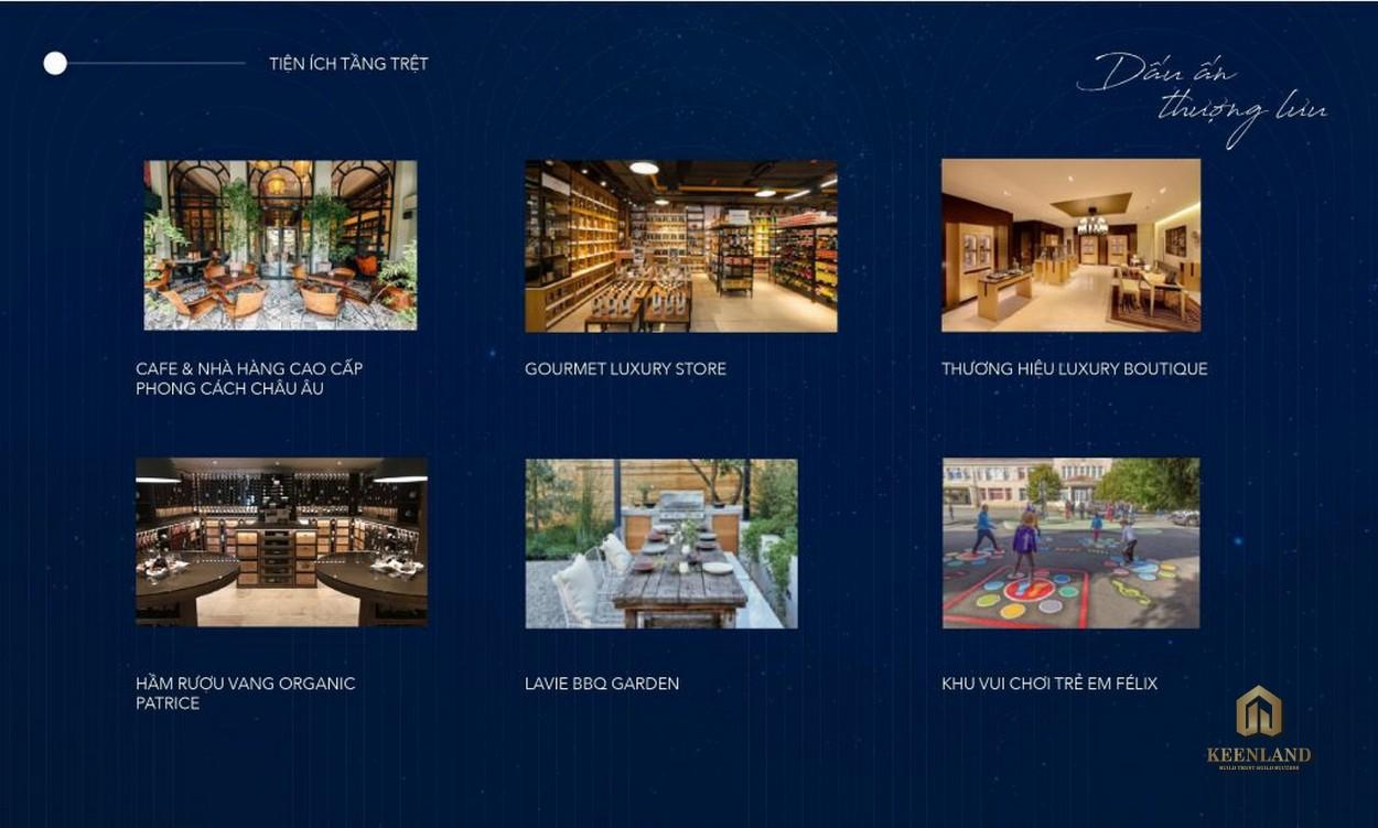 Tiện ích nội khu dự án Grand Central Quận 3