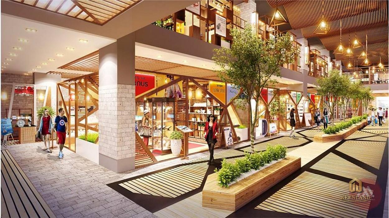 Khu mua sắm - Tiện ích nội khu dự án The Nexus