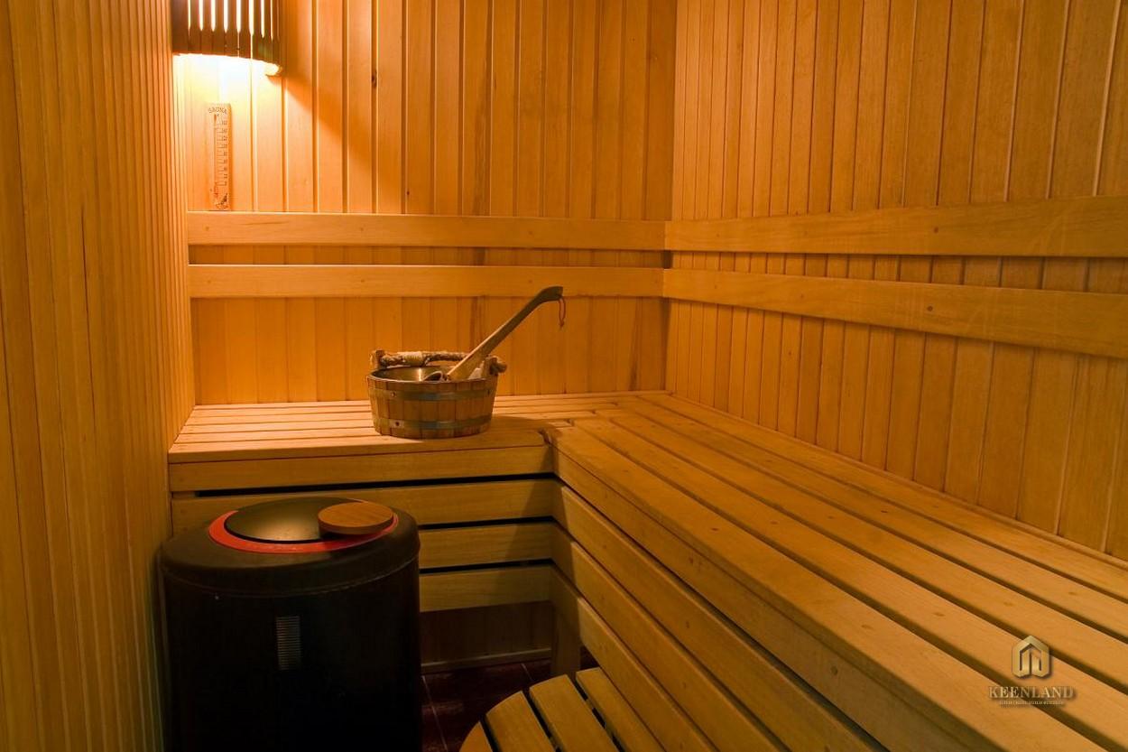 Phòng sauna nội khu dự án Indochina Park Tower