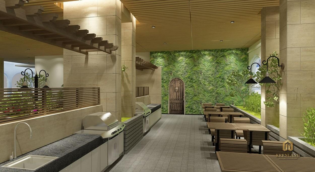 Nhà hàng - Tiện ích nội khu dự án Lucky Palace