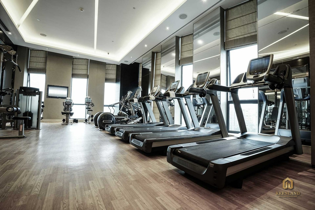 Phòng gym cao cấp - Tiện ích nội khu dự án The Grand Manhattan