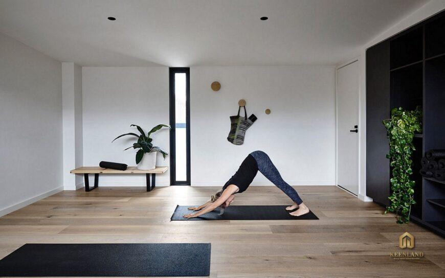 Phòng tập yoga - Tiện ích nội khu dự án 203 Nguyễn Trãi