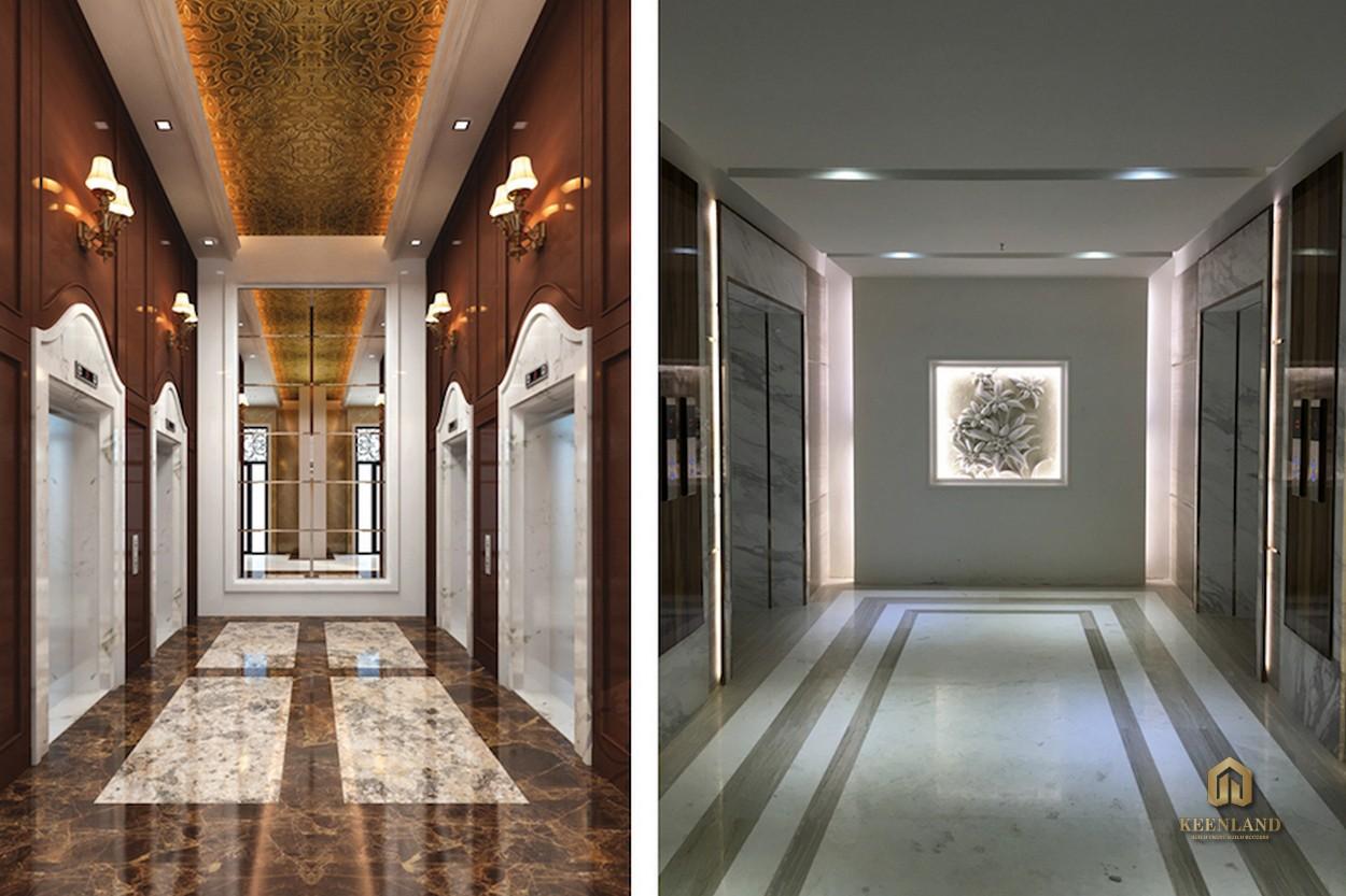 Thang máy tốc độ cao - Tiện ích nội khu dự án Léman Luxury Apartment Quận 3