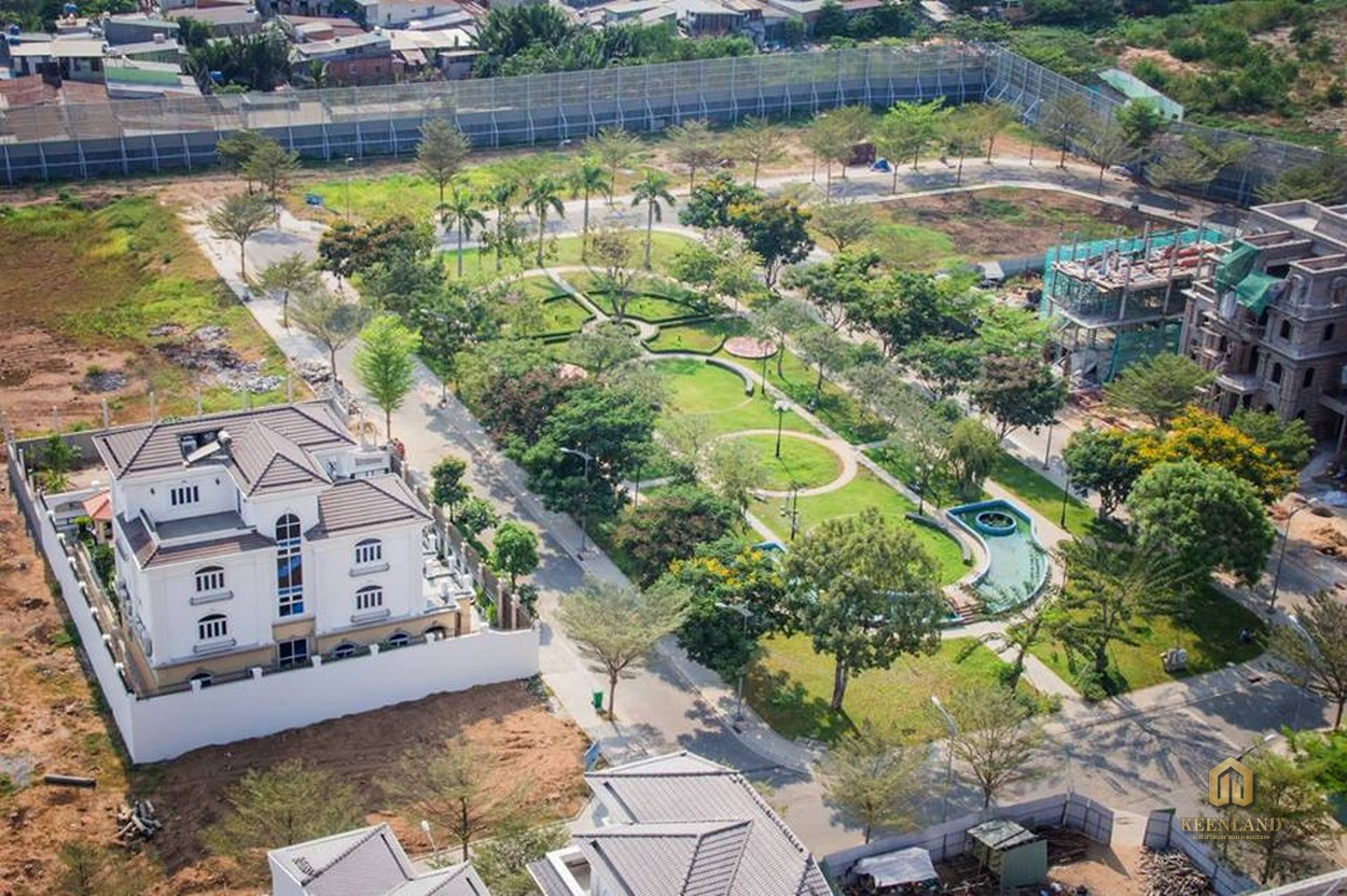 Docklands Saigon Quận 7 tọa lạc trong khu dân cư Citiland