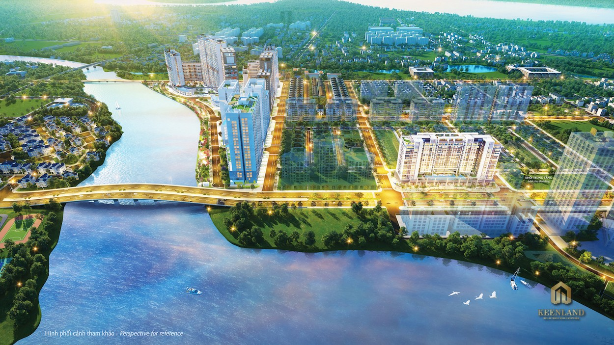 """Toàn cảnh khu Nam Viên được mệnh danh """"bán đảo xanh"""" của Quận 7"""