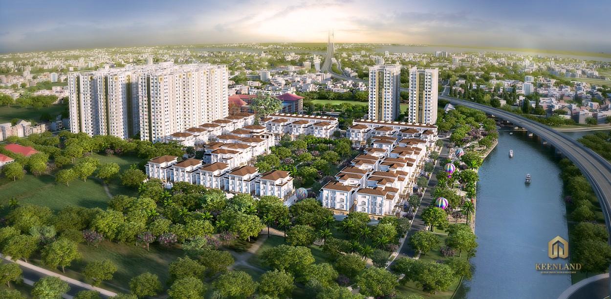 Tổng thể dự án Docklands Saigon Quận 7
