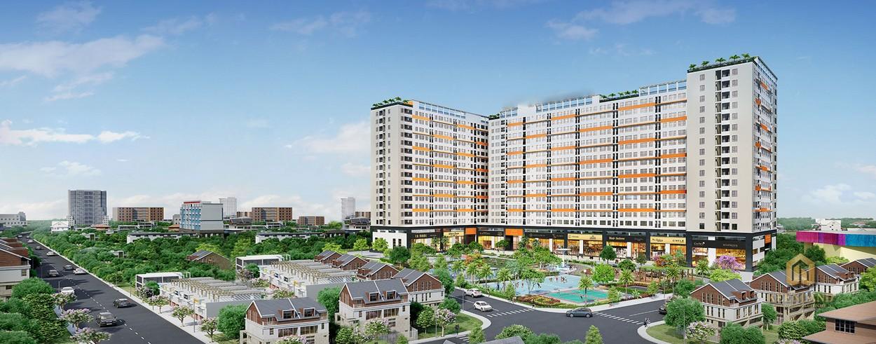 Tổng thể dự án An Phú Apartment