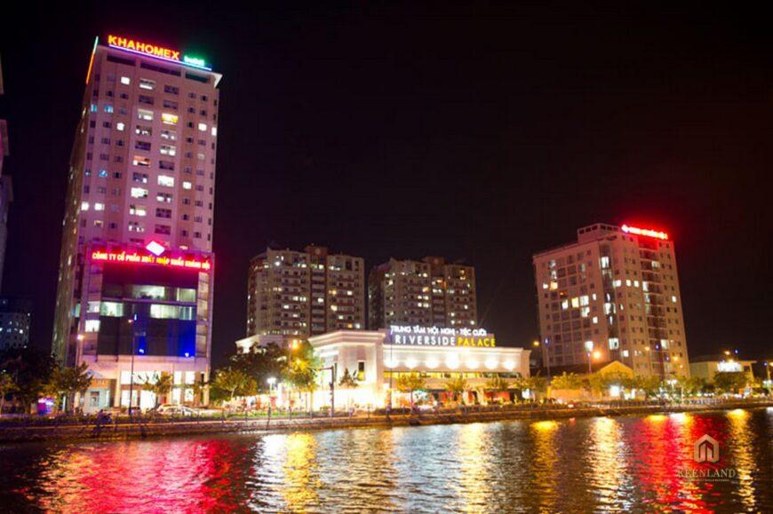 Tổng thể dự án chung cư Khánh Hội 2