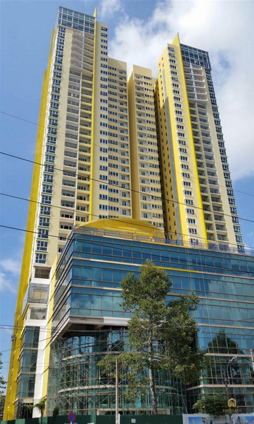 Phối cảnh mặt bằng tòa nhà Golden Plaza Quận 5