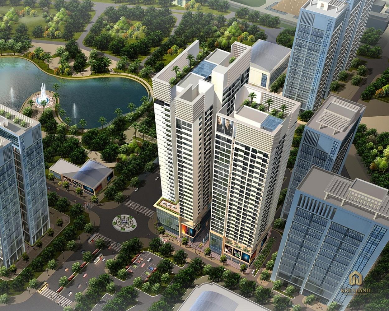 Phối cảnh dự án căn hộ Horizon Tower