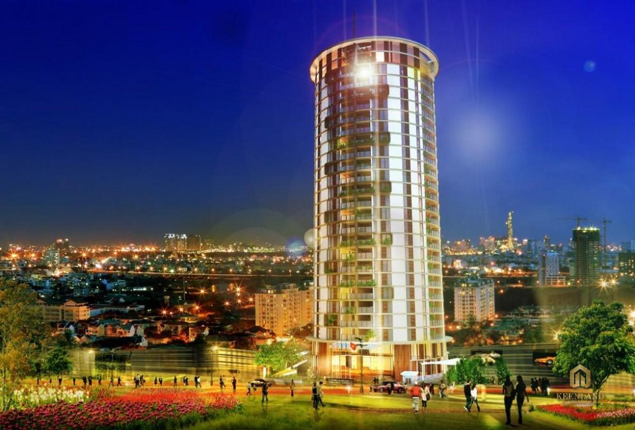 Tổng thể dự án Tulip Tower Quận 7
