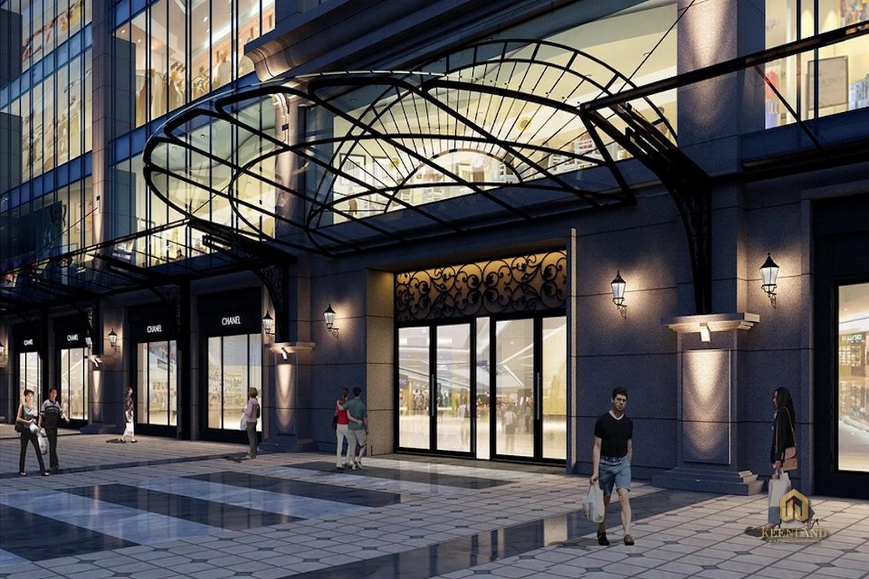 Trung tâm mua sắm sầm uất - Tiện ích nội khu dự án Léman Luxury Apartment Quận 3