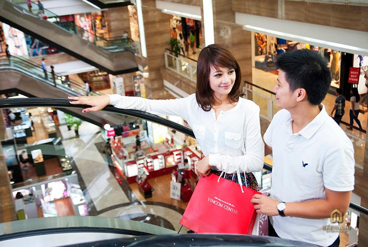 Trung tâm thương mại Vincom đẳng cấp tại dự án Vinhomes Đồng Khởi