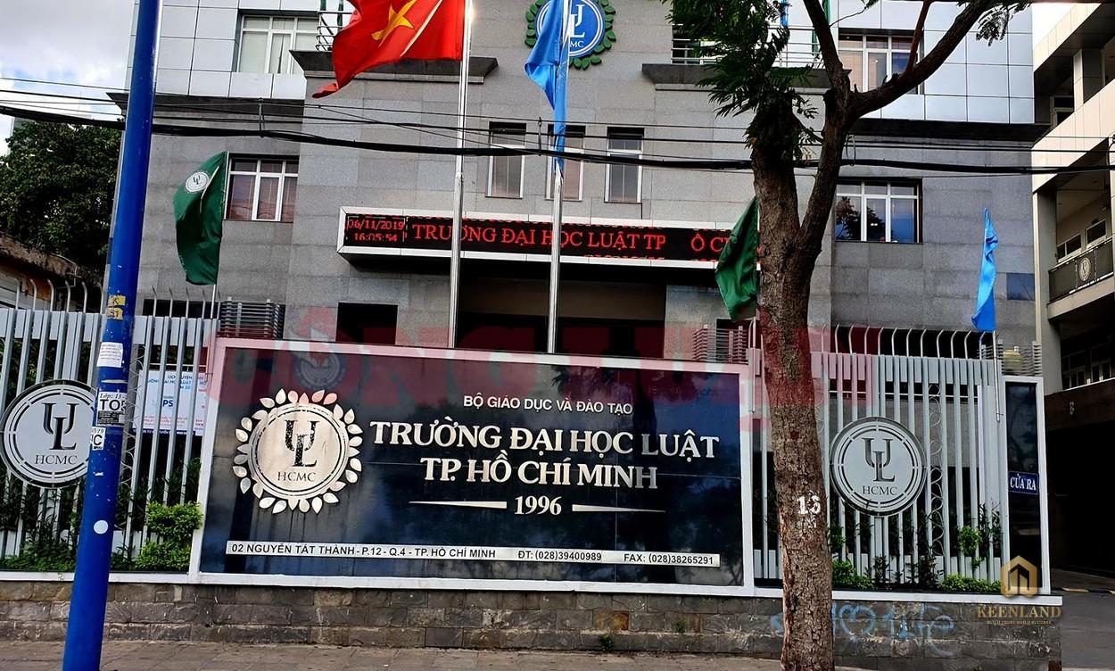Trường Đại học Luật TP HCM - Tiện ích ngoại khu dự án chung cư Copac Square Quận 4