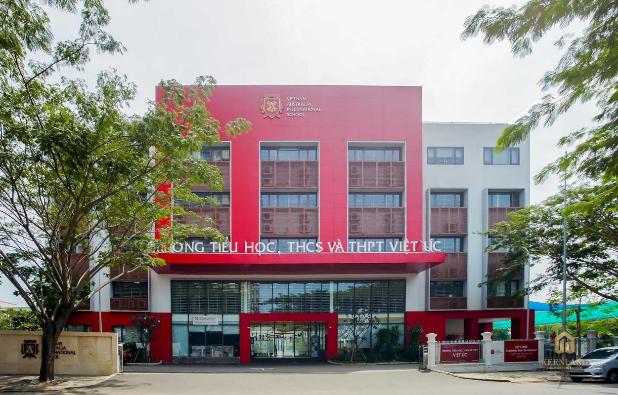 Trường Quốc tế Việt Úc đối diện dự án Cosmo City 2 Quận 7