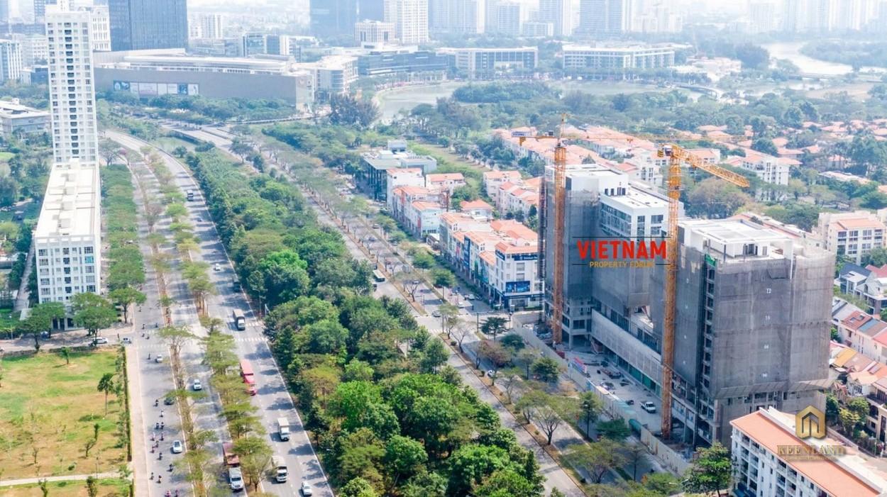 Dự án Urban Hill Phú Mỹ Hưng Quận 7 tọa lạc Khu Cảnh Đồi phát triển bậc nhất KĐT Phú Mỹ Hưng
