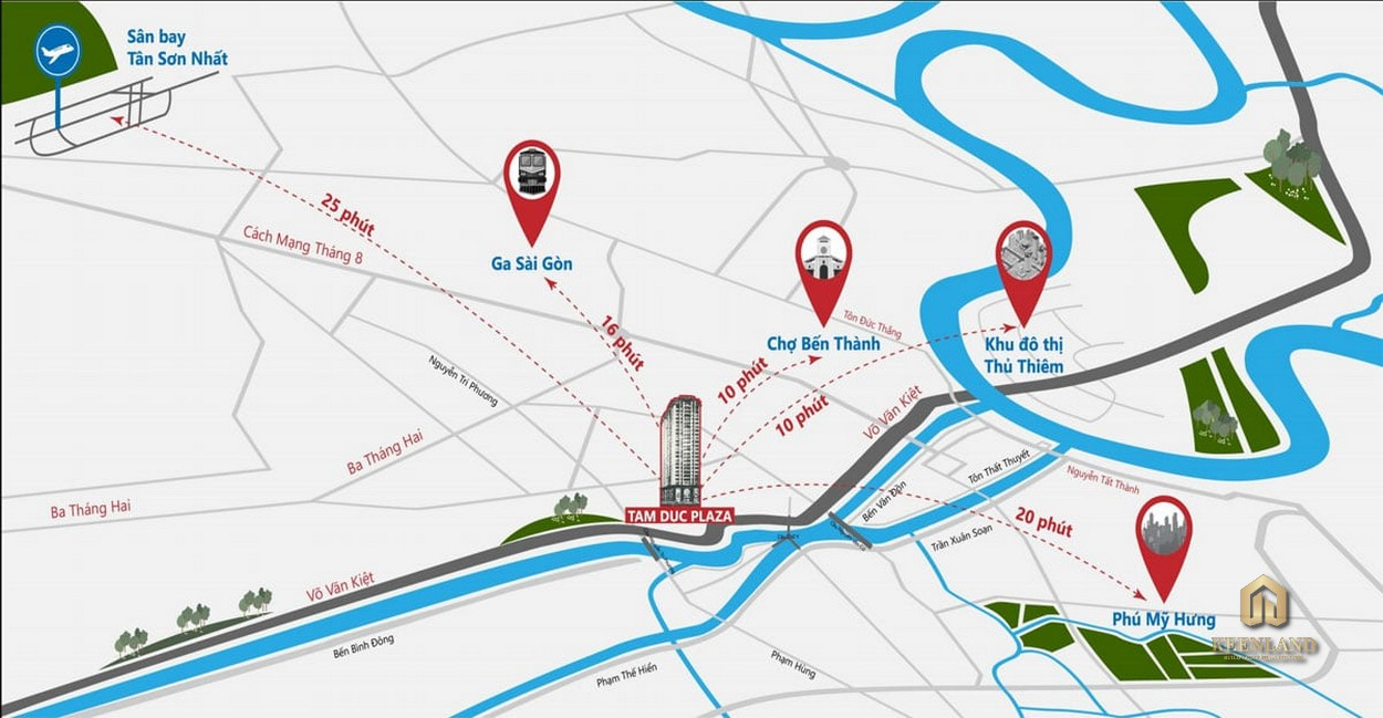 Vị trí dự án Tam Đức Plaza