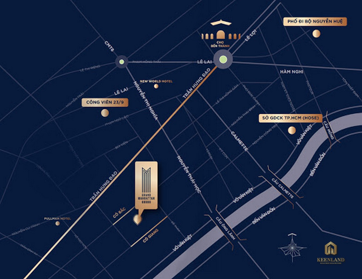 Vị trí dự án The Grand Manhattan