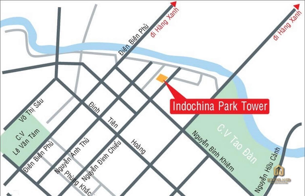 Vị trí dự án Indochina Park Tower