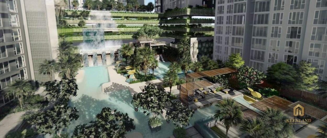 Vườn thượng uyển - Tiện ích nội khu dự án Ascent Garden Homes Quận 7