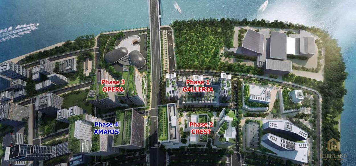 4 phân khu trong dự án The Metrophole Thủ Thiêm