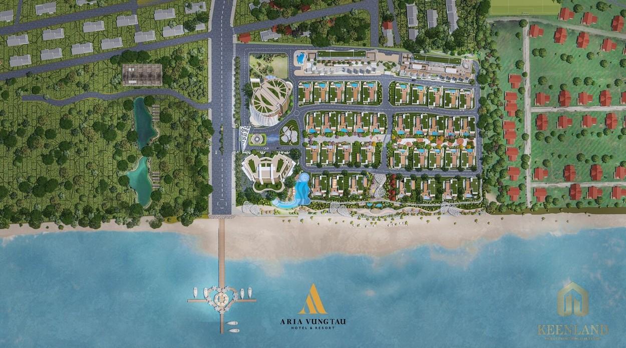 Phối cảnh dự án Aria Vũng Tàu Hotel & Resort