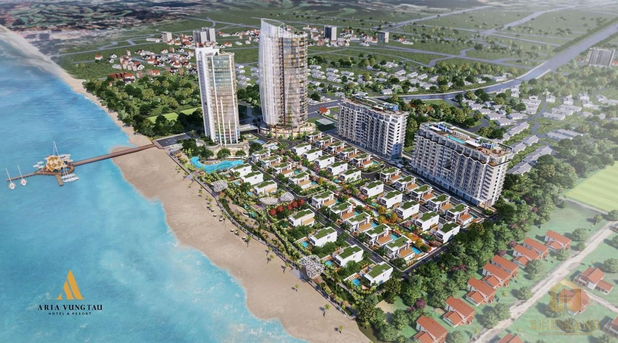 Phối cảnh Aria Vũng Tàu Hotel & Resort
