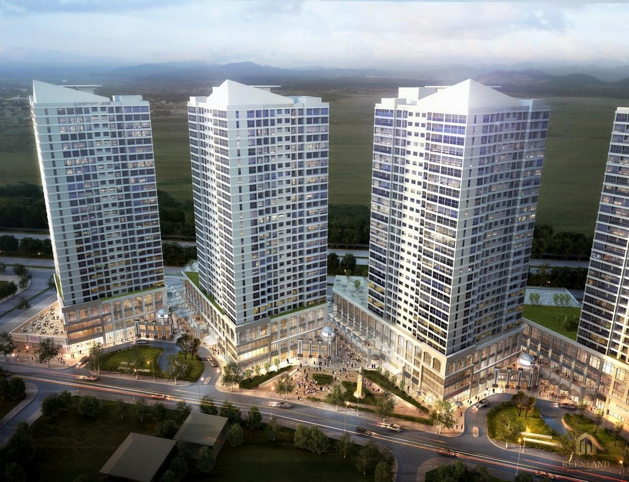 Dự án căn hộ The Sun Avenue tọa lạc ngay mặt tiền đại lộ Mai Chí Thọ