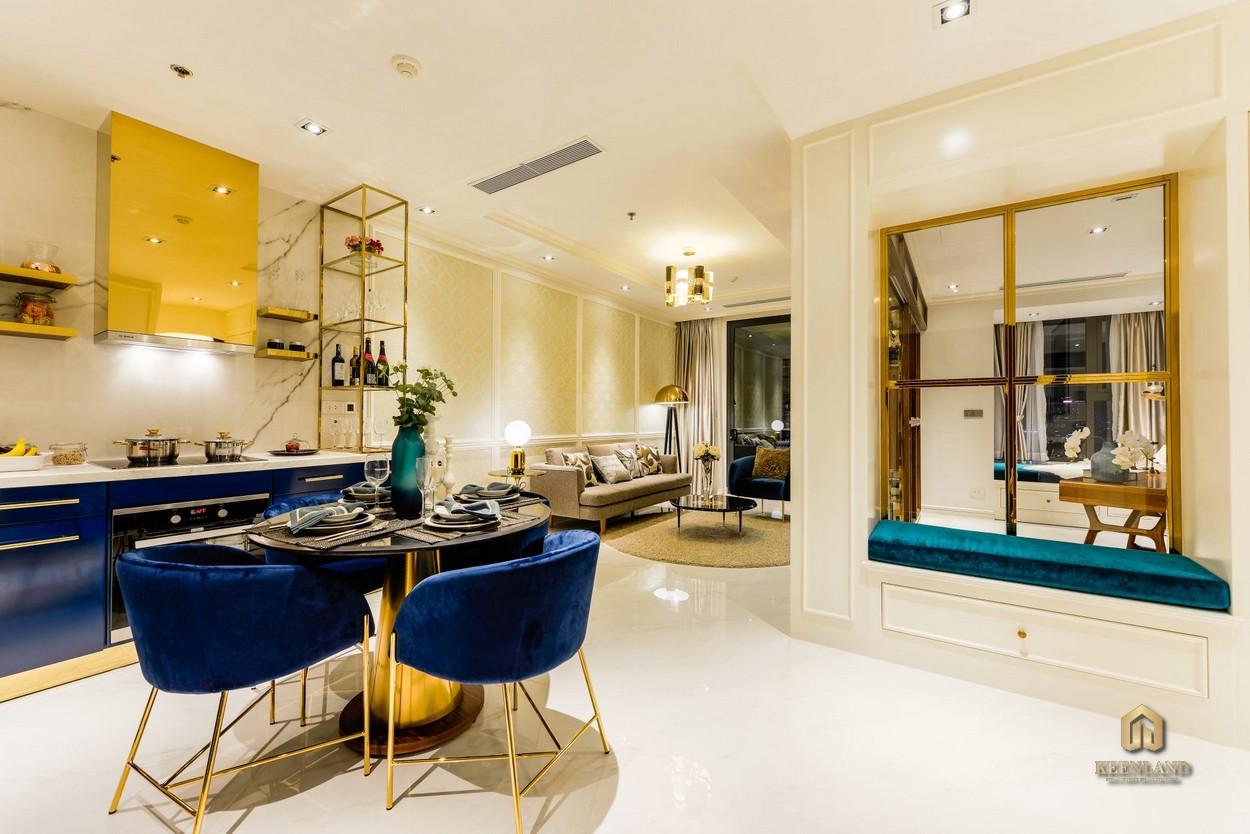 Hình ảnh thực tế căn hộ mẫu Madison