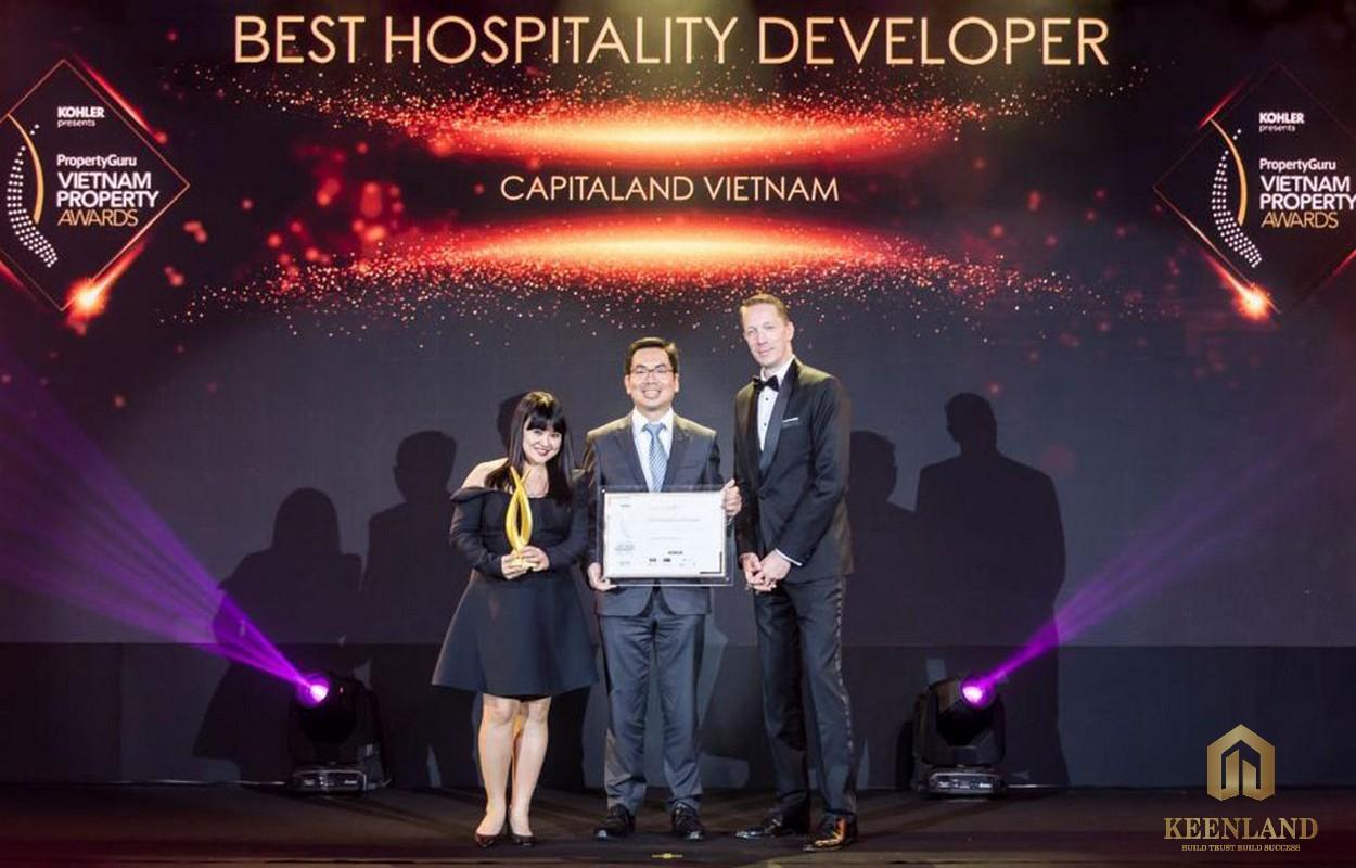Chủ đầu tư Captitaland đạt giải thưởng