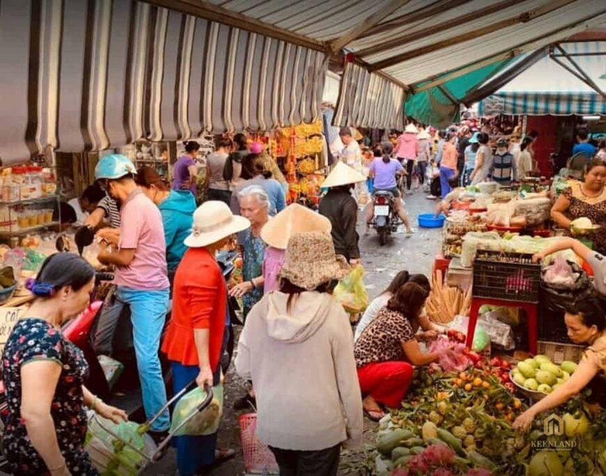 Chợ Bà Hoa Quận Tân Bình