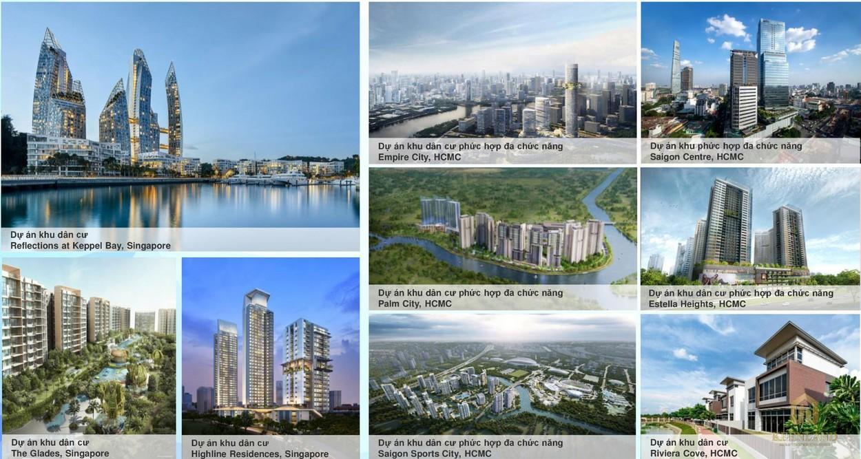 Điểm qua một vài dự án của chủ đầu tư Keppel Land