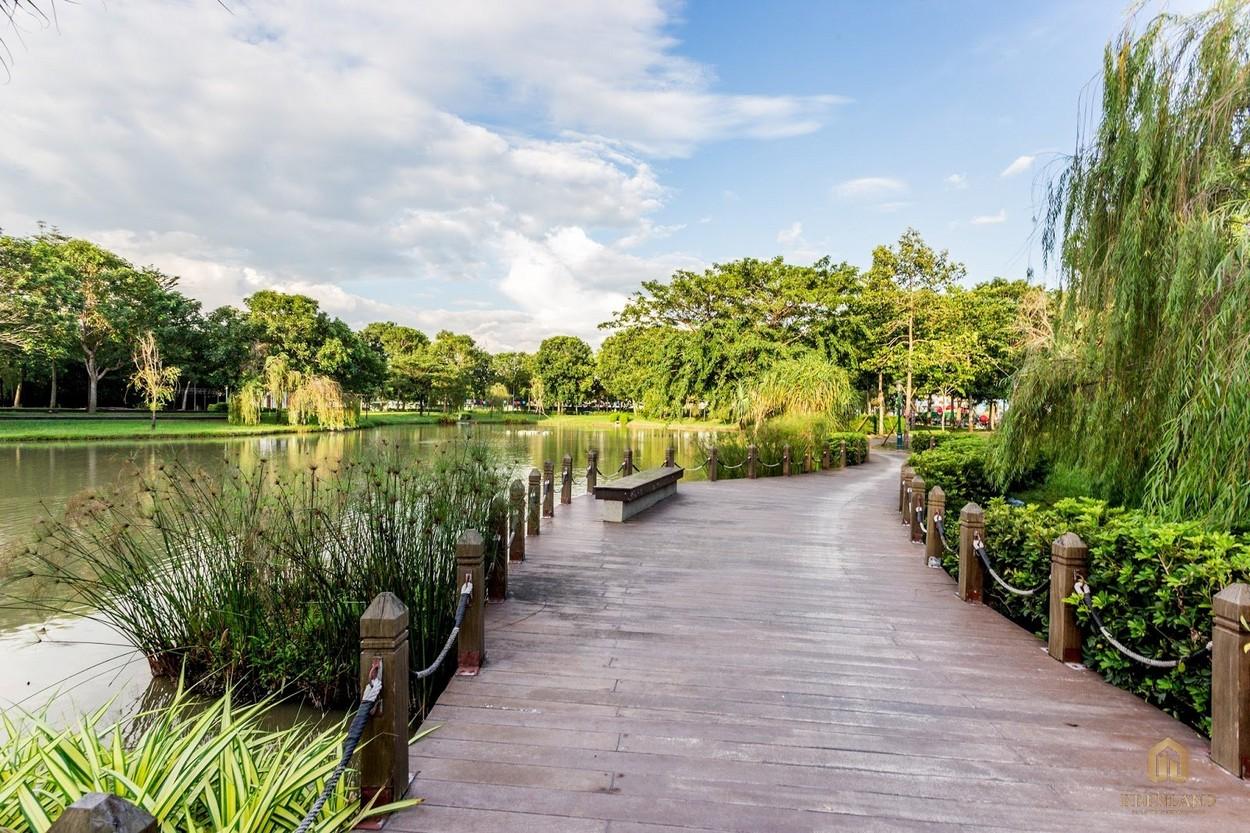 Công viên 7ha thuộc khu đô thị City Hourse.
