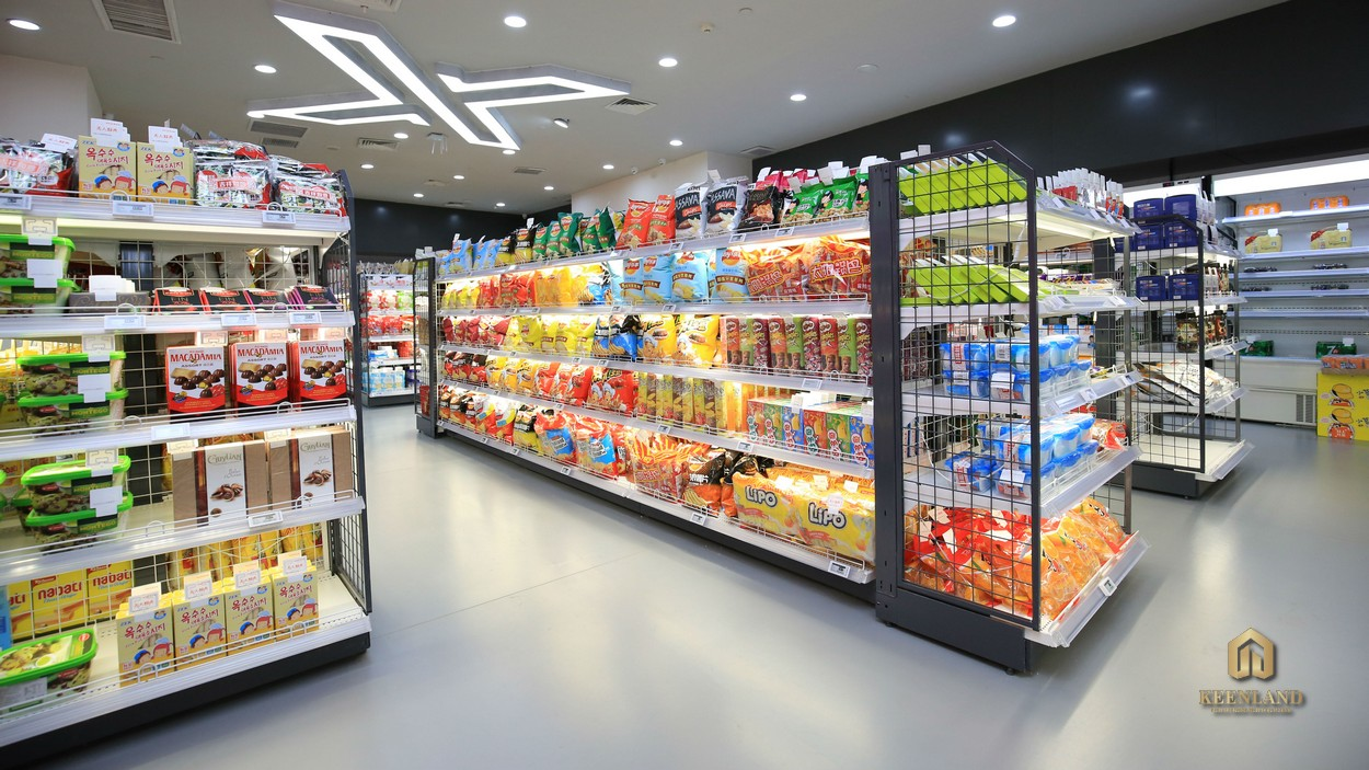 Cửa hàng tiện lợi nội khu dự án 245 Hoàng Văn Thụ