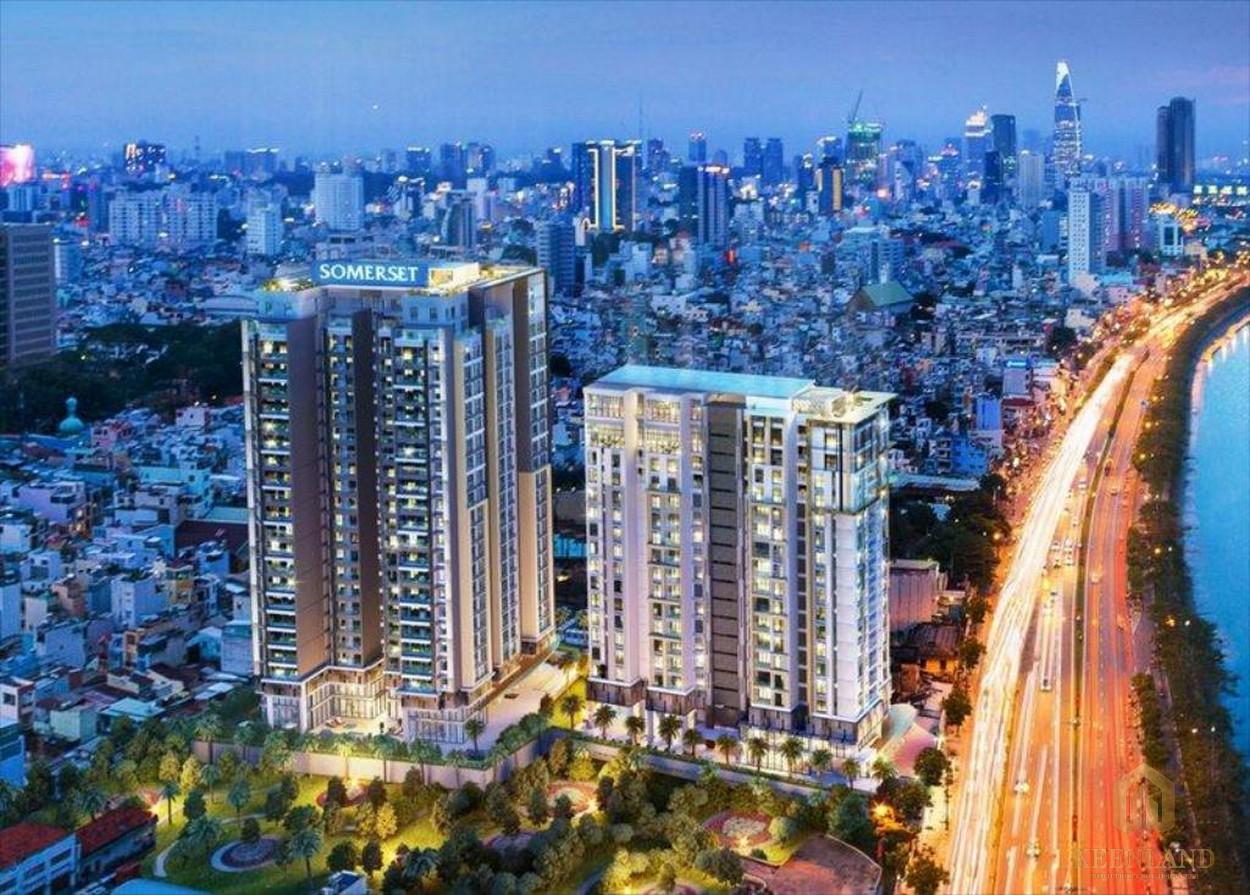 Phối cảnh dự án căn hộ cao cấp tiêu chuẩn quốc tế D1 Mension
