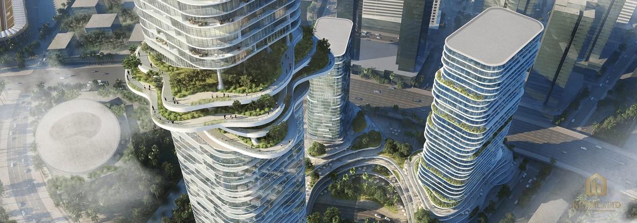 Phối cảnh dự án Empire City Thủ Thiêm