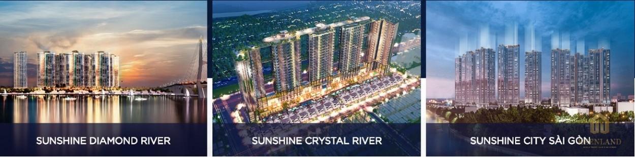 Các dự án nổi bật của Chủ đầu tư Sunshine Group