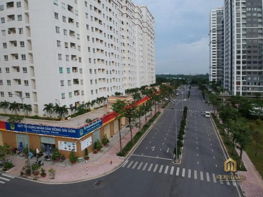 Đường nội bộ dự án Nguyễn Kim Quận 10