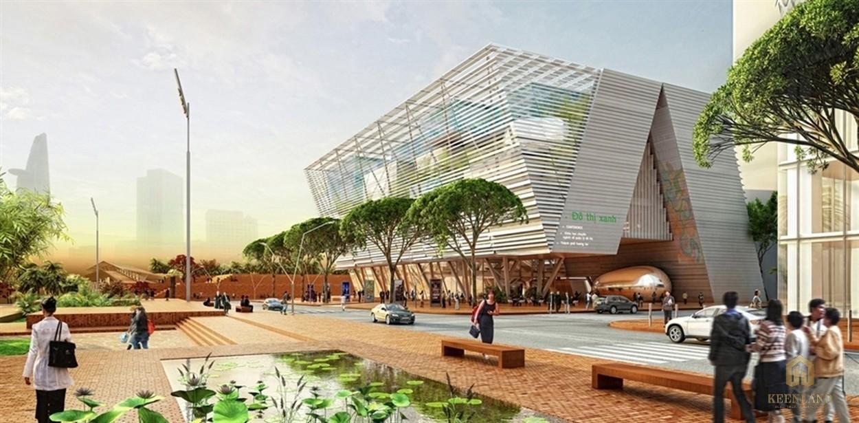 Eco Smarrt City quảng trường dự án