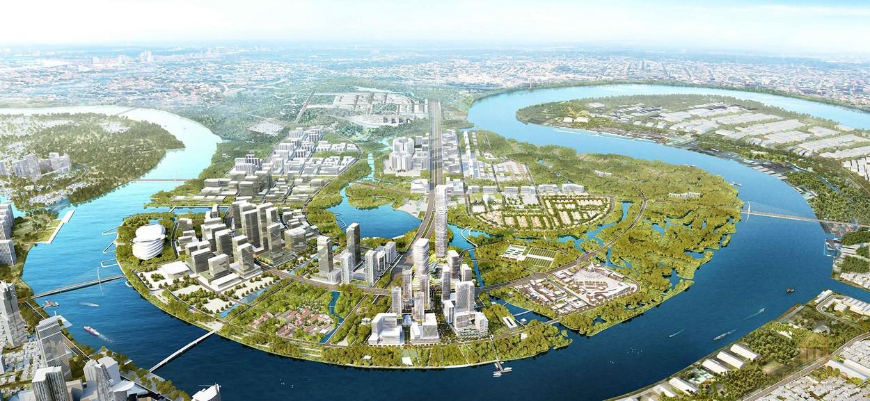 Phối cảnh khu phức hợp cao cấp Empire City