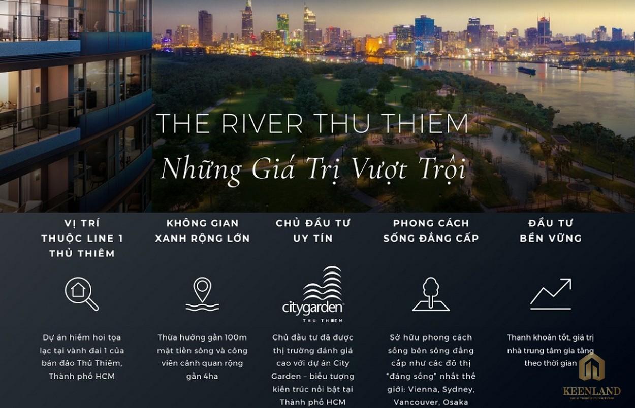 Những điểm nổi bật của The River Thủ Thiêm
