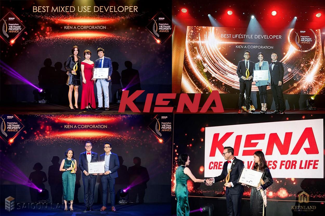 Kiến Á Group đã vinh dự đạt nhiều giải thưởng uy tín trong lĩnh vực BĐS