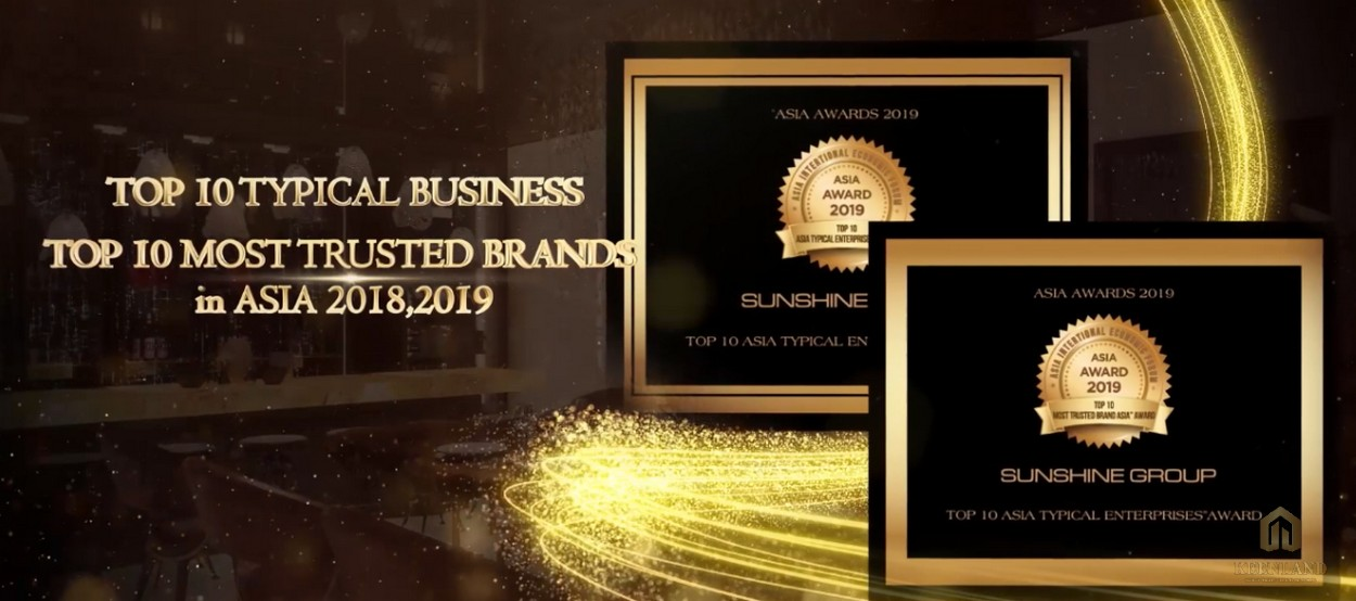 Giải thưởng của tập đoàn Sunshine Group