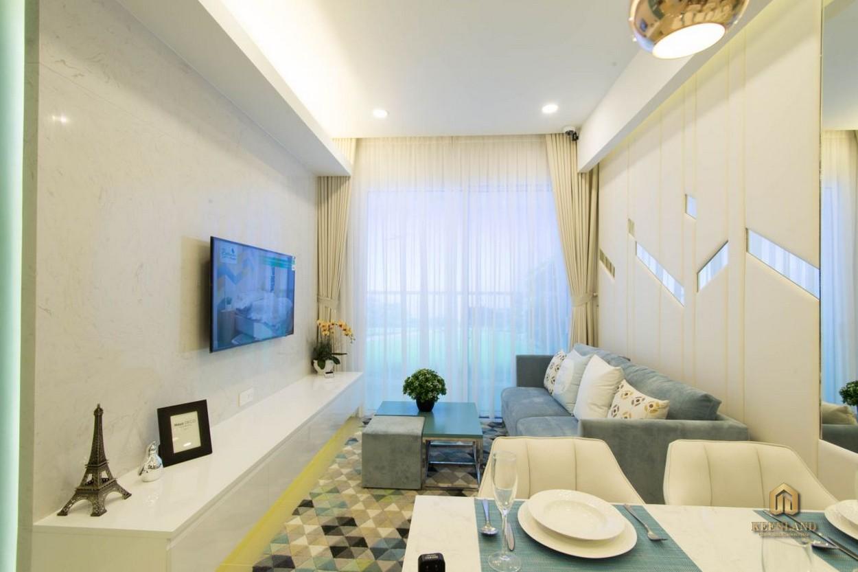 Phòng khách căn hộ Newberry Residence