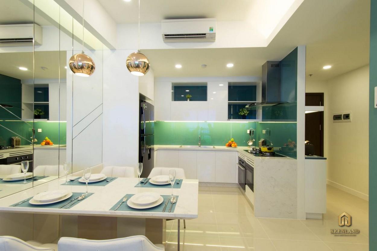 Phòng ăn căn hộ Newberry Residence